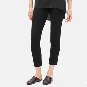 Eileen fisher slim ankle crepe pants EUC small